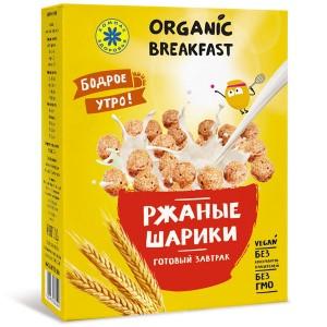Готовый завтрак Ржаные шарики